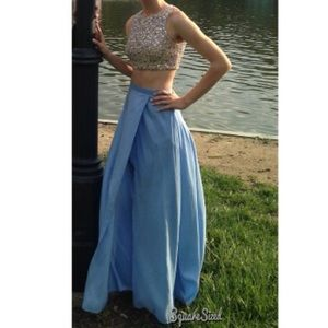 2 piece prom/homecoming dress